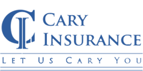 Cary Insurance Logo Blue
