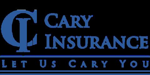 Cary Insurance Logo Blue